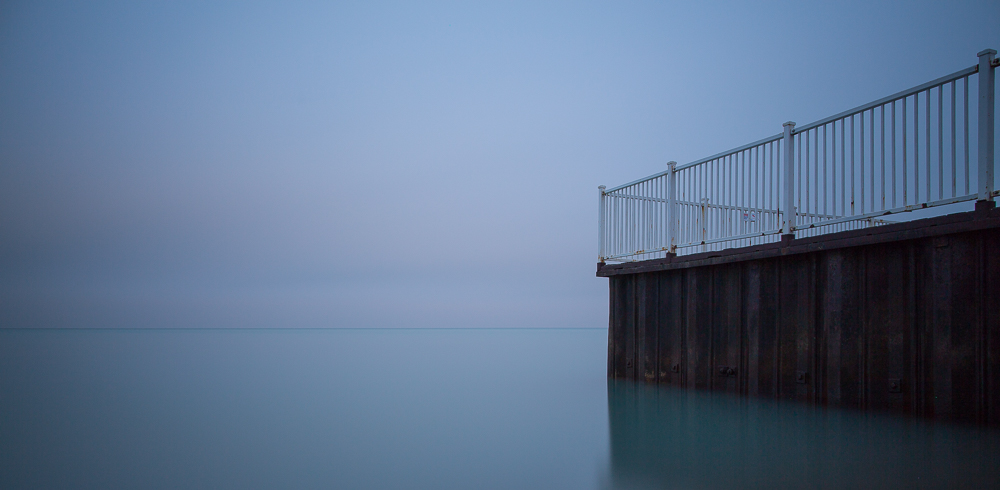 Glencoe Beach, Lake Michigan, Long Exposure, Glencoe