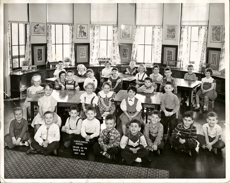 Kindergarten, 1955, Lincoln Hall