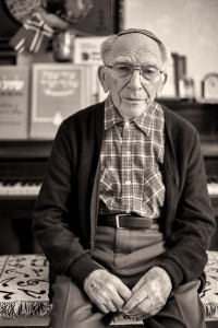 David, the Cantor 102 years old